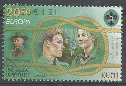 EE 2007-597 ARMS, ESTONIA, 1v, Used - Estonie