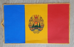 Pennant ROMANIA Coat Of Arms  Flag  15x24cm - Patches