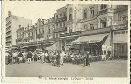 Blankenberghe -- La Digue. (2 Scans) - Blankenberge