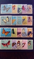 Mozambique 1953 Animal Papillon Butterfly Yvert 419-438 O Used - Mozambique