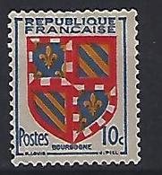 France 1949  Armoiries: Bourgogne  (*) MH Yvert 834 - France