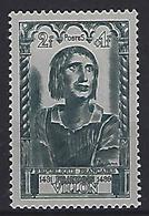 France 1946 Célébrités; Villon (*) MH Yvert 765 - France