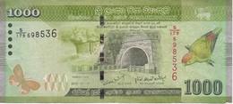 BILLETE DE SRY LANKA DE 1000 RUPEES DEL AÑO 2010  (BANKNOTE) - Sri Lanka