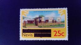 Nevis 1980 Artisanat Crafthouse Timbre St Christophe Nevis Anguilla Surchargé Overprint Yvert 34 ** MNH - St.Christopher, Nevis En Anguilla (...-1980)