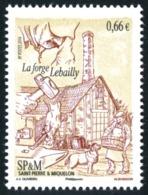 ST-PIERRE ET MIQUELON 2014 - Yv. 1108 ** SUP - La Forge Lebailly  ..Réf.SPM11485 - St.Pierre & Miquelon