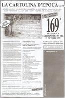 CATALOGO 169° VENDITA LA CARTOLINA D'EPOCA DI LUIGI MALPELI - Books, Magazines, Comics