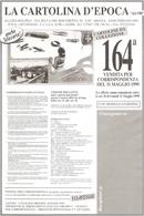 CATALOGO 164° VENDITA LA CARTOLINA D'EPOCA DI LUIGI MALPELI - Livres, BD, Revues