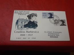 Irlande FDC Countess Markievicz 1868-1927 - FDC