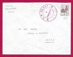 Enveloppe De La Poste Aux Armées - Secteur Postal 86 557 - Marcophilie (Lettres)