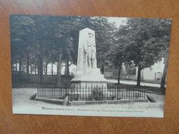 MENETOU-SALON  Monument élevé Aux Heros De La Grande Guerre 1914-1918  18 Cher - Autres Communes