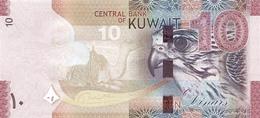 Kuwait P.33  10  Dinars 2014 Unc - Kuwait