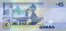 GHANA P. 38a 5 C 2007 UNC - Ghana
