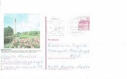 """GERMANY 1983 - DORTMUND -POSTKARTE -OBL  """"10 JAHRE DEUTSCHES ROSARIUM WESTFALENPARK""""24.5.1983 WITH ROSARIUM PARK MAGE - Dortmund"""