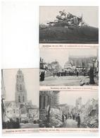 Beschieting Van Lier,1914.cliché Mauquoy   4 Kaarten - Lier