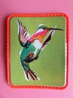 Cafés Maurice - Collection Les Oiseaux Merveilleux - Ecusson Plastifié - N° 42 - Lucifer D'Héliodore - Otros