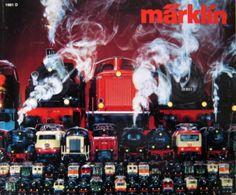 MÄRKLIN Katalog Prospekt 1981 True Vintage Preisliste - Spur HO