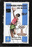 TIMBRE OBLITERE DU BENIN SURCHARGE EN 1979 N° MICHEL G 198 - Bénin – Dahomey (1960-...)