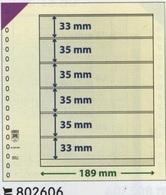 Paquet De 10 Feuilles Neutres Lindner T  Réf. 802606  à Moins 50 % - A Bandes