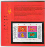 16 Stamps And 2 Sheets Of 10 Stamps. Hong Kong. Year 1998. - 1997-... Chinese Admnistrative Region