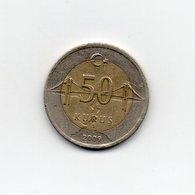 Turchia - 2009 - 50 Kurus - Bimetallica - Vedi Foto - (MW1837) - Turchia