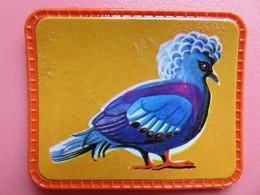 Cafés Maurice - Collection Les Oiseaux Merveilleux - Ecusson Plastifié - N° 28 - Pigeon Couronné - Otros