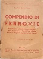 CESARE ALIMENTI - COMPENDIO DI FERROVIE (molto Interessante) - Libri, Riviste, Fumetti