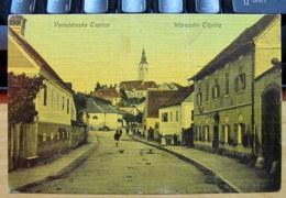 Croatia / Hrvatska: Varazdinske Toplice (Varasdfürdö/ Warasdin-Töplitz), Street View 1913 - Croatia