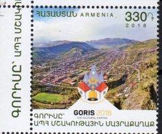 ARMENIA, 2018, MNH, GORIS, CIS CULTURAL CAPITAL, MOUNTAINS, 1v - Cultures