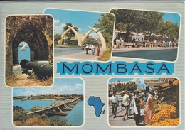 KENYA MOMBASA MULTI VIEW  USED NICE STAMP - Kenya
