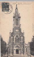 Cp , MILITARIA , Guerre 1914-1915 , MAROEUIL (P.-de-C.), L'Église Avant Le Bombardement - War 1914-18
