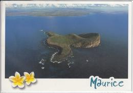 ILE MAURICE MAURITIUS  VUE AERIENNE DU COIN DE MIRE  USED NICE STAMP - Mauritius