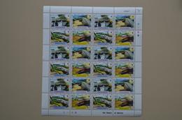 Panama Feuille Entière MNH Full Sheet Crocodile - Reptiles & Amphibians