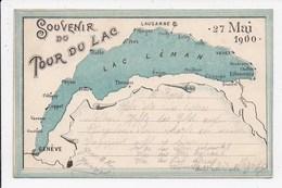 CPA SUISSE Souvenir Du Tour Du Lac - GE Genf