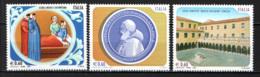 ITALIA - 2007 - LE SCUOLE ITALIANE: SCUOLA MEDICA SALERNITANA . ISTITUO DI STUDI POLITICI SAN PIO V, LICEO FOSCARINI MNH - 6. 1946-.. Republic