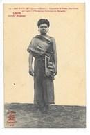 LAOS -  SAO-BOUN (Mlle Qui-a Du Mérite) Chanteuse De Bassac (Bas-Laos) Figura à L'expo Coloniale De Marseille   -   L 1 - Laos