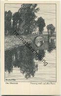 Dämmrig Wird's Auf Allen Fluren - Aus Dem Buche Meine Heimat - Künstlerkarte Signiert Otto Ubbelohde - Ubbelohde, Otto
