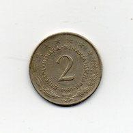 Jugoslavia - 1980 - 2 Dinara - Vedi Foto - (MW1840) - Jugoslavia