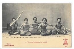 LAOS -  Chanteuses Laotiennes Et Leur Orchestre   ## RARE ##   -   L 1 - Laos