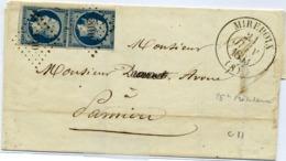C27-2 N°10 T13 MIREPOIX Ariege - 1849-1876: Classic Period