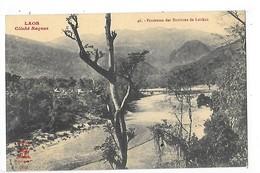 LAOS -   Panorama Des Environs De Laïchau   -   L 1 - Laos