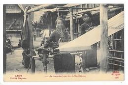 LAOS -   Le Tissage Des Jupes Dans Le Haut-Mékong   -   L 1 - Laos