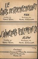 VIAN - SALVADOR  Le Gars De Rochechouart/ J'aimerais Tellement ça -  Editions Jacques Plante - 1958 - Non Classés