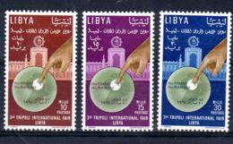 28.2.1964; 3e Foire De Tripolis, YT 228 - 230, Neuf **, Lot 50384 - Libië