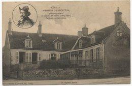 CP 03 - Cérilly Marcellin Desboutin Peintre Graveur - Sa Maison Natale - A Circulé En 1916 (réf 18-485) - France
