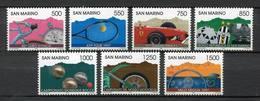 SAN MARINO 1997 - DEPORTES - YVERT Nº 1509-1515** - Ciclismo