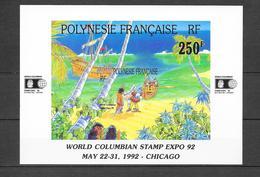 World Columbian Stamp Expo 92 : N°20 Chez YT. (Voir Commentaires) - Blocs-feuillets