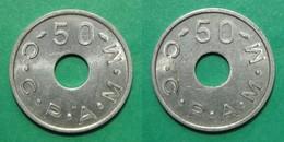 75 - Paris C.C.P.A.M.M. - Réf. Elie C595.1 - Valeur 50 - Monetari / Di Necessità
