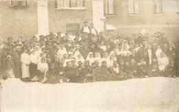 MILITARIA - Carte Photo D'un Hopital Militaire Guerre 14/18 Non Situé - Infirmières - Guerre 1914-18