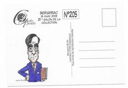 Illustrateur Bernard Veyri Caricature Et Dedicace Francois Fillon Politique - Veyri, Bernard