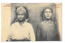LAOS -   Jeunes Gens Méo Noirs (Hua-Pahn)   ## TRES RARE ##   -   L 1 - Laos